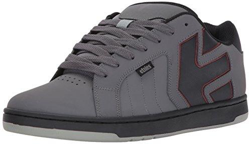 Fader grey Uomo black Etnies Grigio Da red 2 Skateboard Scarpe BaagqpH