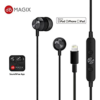 Amazon.com: [Apple MFI Certified] Lightning In-Ear