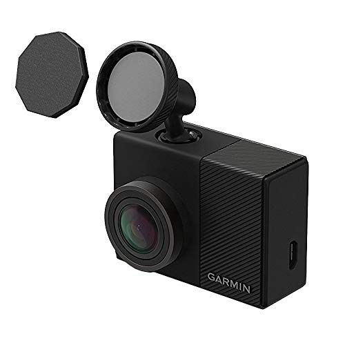 Garmin Dash Cam 65W 1080P w/ 180-Degree Field of View (010-01750-05) with 64GB Mounting Bundle