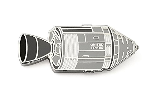 Pinsanity Apollo Lunar Capsule Enamel Lapel Pin