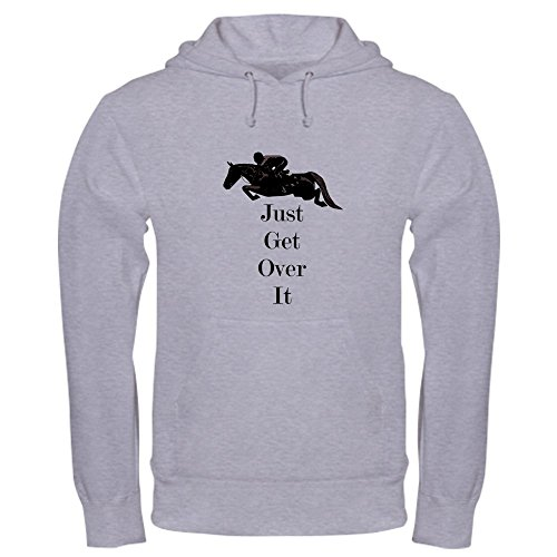 ver It Horse Jumper Hooded Sweatshirt - Pullover Hoodie, Classic & Comfortable Hooded Sweatshirt (Grand Prix Show Jackets)