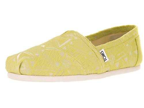 Toms Women's Classic Citron Neon Casual Shoe 10 Women US