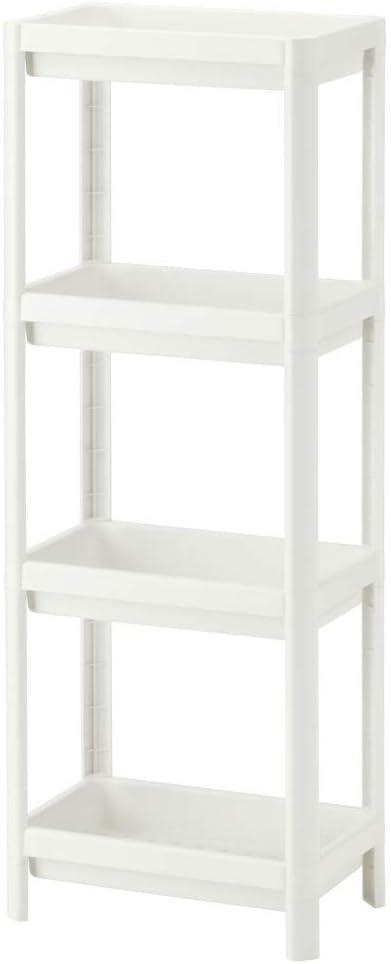 IKEA ASIA VESKEN Estantería blanca: Amazon.es: Hogar