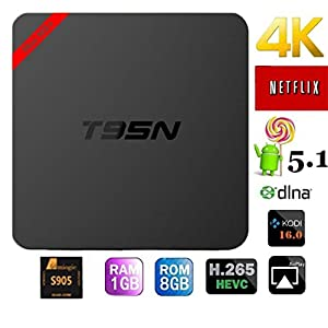 2016 Newest T95N android tv box update from mx pro Amlogic S905 Quad