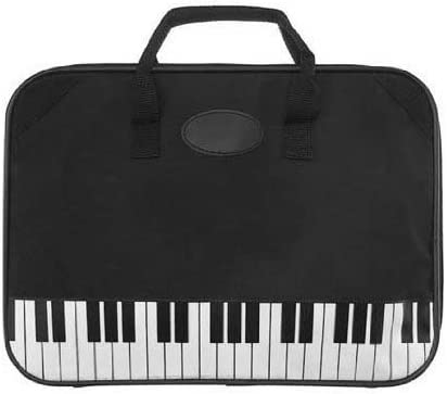 Piano Briefcase Gift for Piano Player or Piano Student Teacher