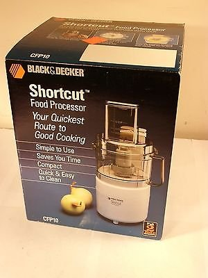 Black & Decker SHORTCUT Food Processor