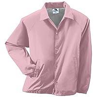 Augusta Sportswear Unisex-Adult Nylon Coach's Chaqueta /Forro, Rosa claro, X-Large