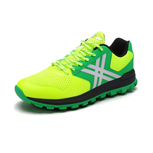 XTEP Mens Sports Shoes Athletic Running Shoes (Green) - 9