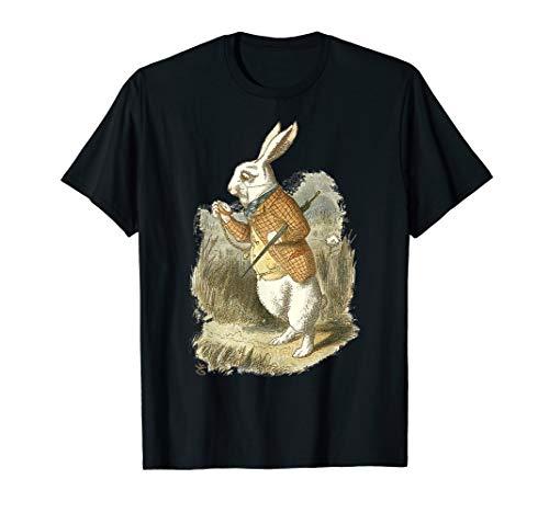 Easter Bunny Shirt White Rabbit Alice In Wonderland
