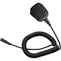 Arama Rainproof Lightweight Handheld Shoulder Remote Speaker for Yaesu Shoulder speaker Mic and PTT for Yaesu VX-8R VX-8DR VX-8 VX-8E VX-9U Two Way Radio (A600Y04)