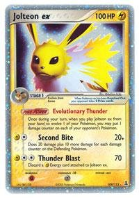 Pokemon - Jolteon ex (109) - EX Delta Species - Holofoil