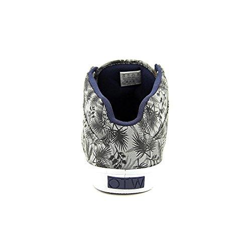 Vans Heren Bedford Lage Top Veterschoenen Sneakers Grijs / Wit
