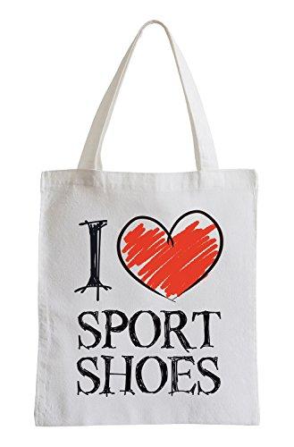 Amo Scarpe sportive Fun sacchetto di iuta