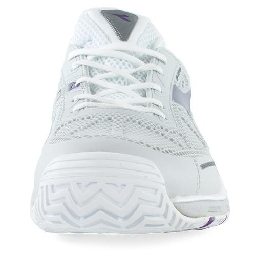 Diadora Women`ss Pro Evo Ag Tennissko Hvid Og Violet- (161.739-c5129s15) VMmXvF6N
