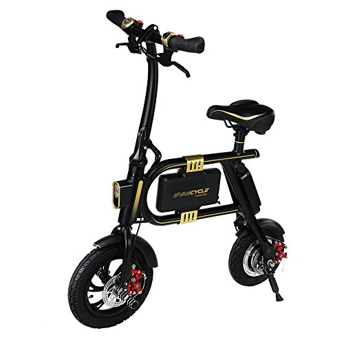 Purchase SWAGTRON SwagCycle E-Bike – Folding Electric Bicycle with 10 Mile Range, Collapsible Fram...