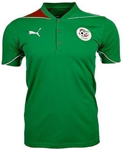 Puma 736883-27 - Polo de la selección de Argelia verde verde Talla ...