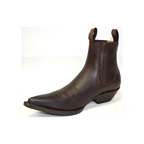 GO'WEST Men's Boots Dark Brown Jfzf53jVM