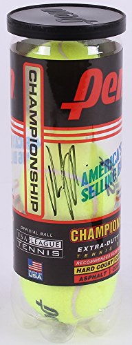 ANDY RODDICK SIGNED PENN TENNIS BALL CANNISTER w/ 3 BALLS SEALED IN CAN PSA/DNA