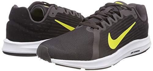 De 010 thunder oil dynamic Downshifter Nike Running Grey Hombre Yellow 8 Gris Para Grey Zapatillas wf6qpZx