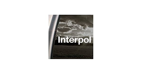 Amazon com interpol rock band white color decoration decor macbook art window car home decor auto notebook wall art laptop vinyl bike wall car adhesive