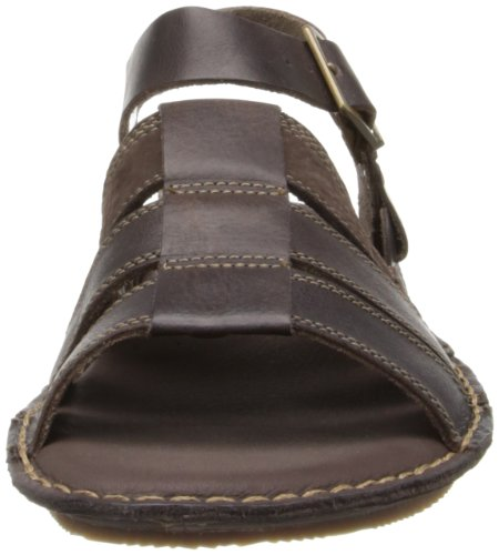 Timberland Messieurs Earth Keepers Harbor point Back Strap Sandals Dark Brown 5146 A