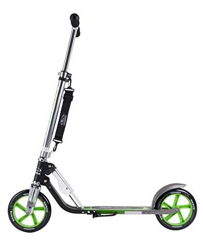 Hudora Big Wheel Scooter GS 205, Neon-Green, 14695