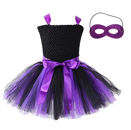 AQTOPS Batgirl Costume for Girls -