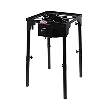 GAS ONE Portable Propane 100,000 BTU High Pressure Single Burner Outdoor  Camp Stove