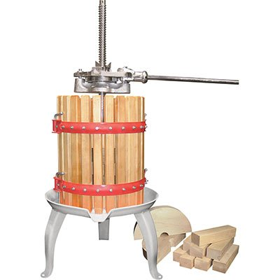 4-Gallon Double Ratchet Fruit Cider and Wine Press Kotulas
