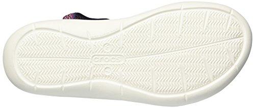 Crocs Women's Swiftwater Graph Webbing Sport Sandal Navy/Diamond qAwpeAqa8i