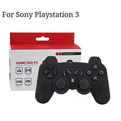 Chezaa Wireless Gamepad PS3 Controller Replacement Joystick for Sony Playstation 3, Rechargeable Bluetooth Pro Game Pad Joystick Controller : Sports & Outdoors