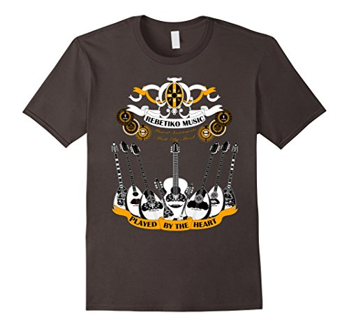 Mens Bouzouki T-Shirt. Made by hand, Played by the Heart!...