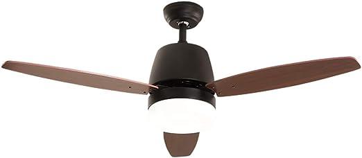 Ventiladores de techo con lámpara Ventilador con lámpara luz muda ...