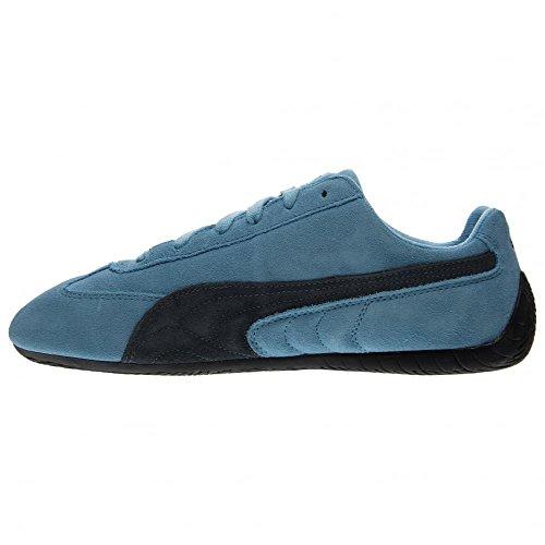 nouveau style 6bdf0 d763c Puma Speed Cat Mens Blue Suede Lace Up Sneakers Shoes hot ...