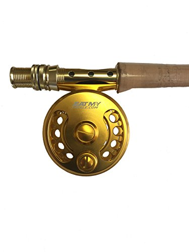 EAT MY TACKLE Trout Tournament Edition 3/4 wt Fly Fishing Rod and Reel (Best Fly Reel For Redfish)