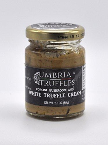 Porcini Cream - Porcini Mushrooms and White Truffle Cream 80g Jar