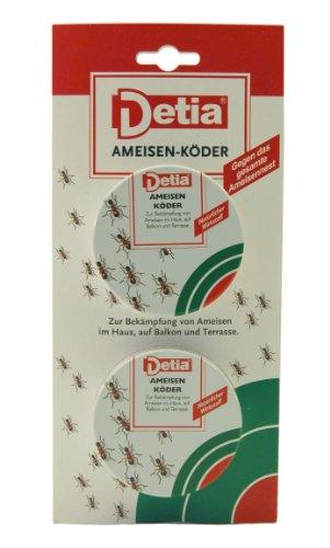 DETIA - Ameisen-Köder, Einzeldose, 2 Stück