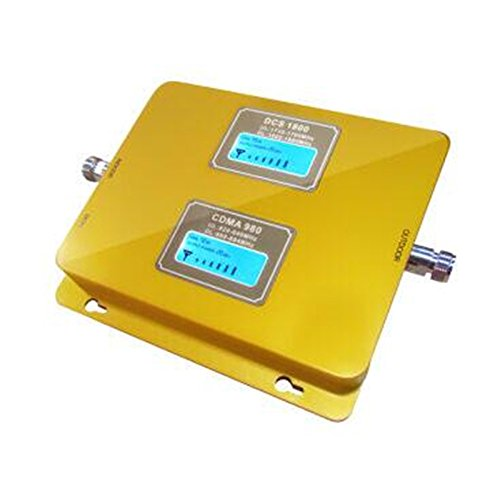 up to 3000 sq ft APOHALO 850MHz//1900MHz Dual Band PCS 2G GSM//3G 75db Mobile Cell Phone Signal Booster Amplifier Connect 4G Cell Phone Signal for Home and Office