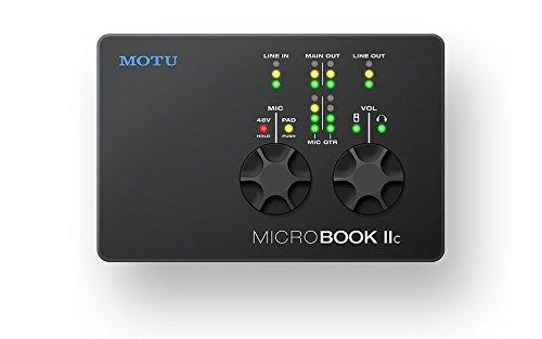 MOTU MicroBook IIc 4イン6アウト iOS対応 USBオーディオインターフェイス   B01875SGR8