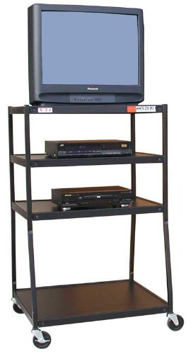 54 Inch High Av Cart - VTI Wide Body TV Cart 54