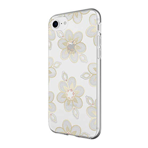 Beaded Cell Phone Case - Incipio Apple iPhone 6 / 6s / 7/8 Design Series Case - Beaded Floral
