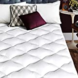Jearey Twin Mattress Pad Cover with 8-21''Deep Pocket - Pillow Top Quilted Mattress