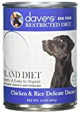 Dave'S Restricted Bland Diet, Chicken & Rice For Dogs, 13 Oz Can (Case Of 12 ) Review