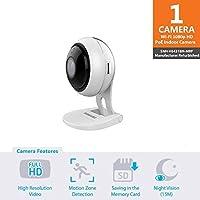 Samsung Wisenet SNH-V6431BN SmartCam 1080p Full HD PoE Wi-Fi Indoor IP Camera (Certified Refurbished)