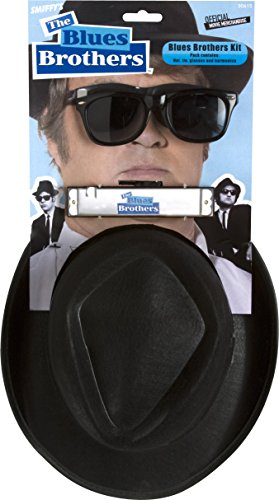 Smiffy's Blues Brothers Kit - Brothers Blues Costume The
