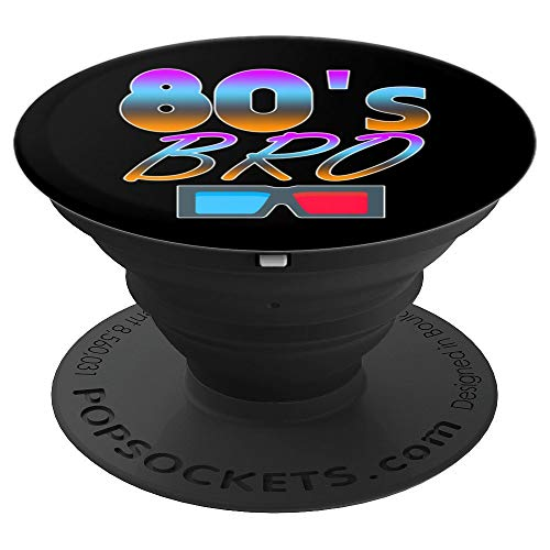 This Is My 80s Bro Costume 80's Party Gifts PopSockets Grip and Stand for Phones and Tablets]()