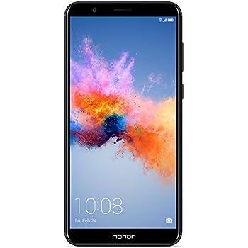 "Honor 7X GSM Unlocked Smartphone 5.93"" FullView Display, 16MP + 2MP Dual-Lens Camera, Dual SIM, Expandable Storage, Black (US Warranty)"