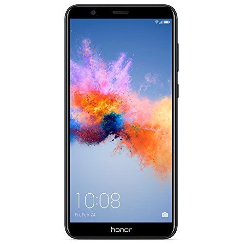 "Honor 7X GSM Unlocked Smartphone 5.93"" FullView Display, 16MP + 2MP Dual-Lens Camera, Dual SIM, Expandable Storage, Black (US Warranty)"