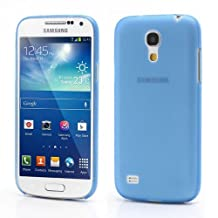 JUJEO Blue Ultra Thin Frosted Hard Case for Samsung Galaxy S4 mini i9190, Non-Retail Packaging