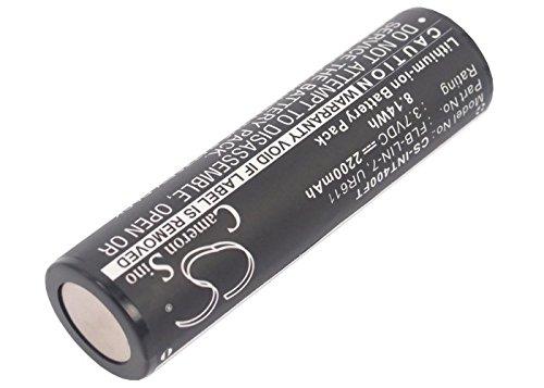Cameron sino 2200mAh Li-ion Replacement FLB-LIN-7 Rechargeable Battery For Inova T4 UR611 T4 Lights Flashlight